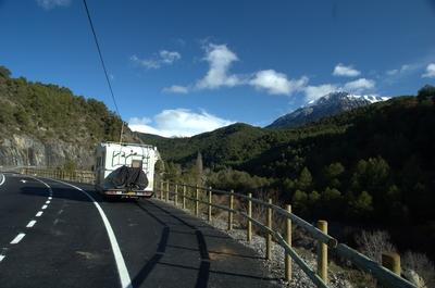 witte iveco vrachtwagentje